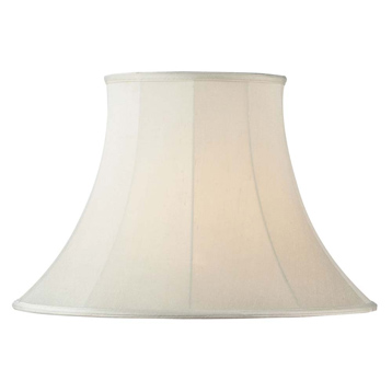 CARRIE Cream Round Bell Lamp Shades